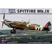 ARK MODELS 48008 SUPERMARINE SPITFIRE MK.IX BRITISH FIGHTER (THE KIT INCLUDES 2 SETS OF PLASTIC PARTS & RESIN PARTS) 1/48