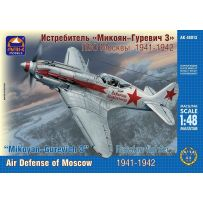 ARK MODELS 48013 MIKOYAN-GUREVICH MIG-3 RUSSIAN FIGHTER. AIR DEFENSE OF MOSCOW 1941-1942 1/48