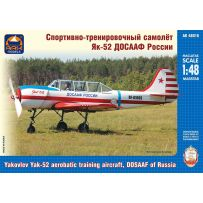 ARK MODELS 48016 YAKOVLEV YAK-52 AEROBATIC TRAINING AIRCRAFL DOSAAF OF RUSSIA 1/48