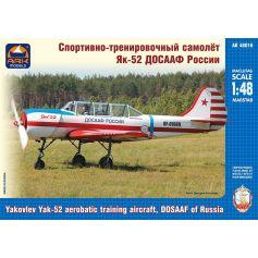 Ark Model 48016 - Yakovlev Yak-52 aerobatic training aircraft, DOSAAF of Russia 1/48