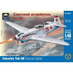 ARK MODELS 48021 YAKOVLEV YAK-9K RUSSIAN FIGHTER 1/48