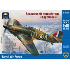 ARK MODELS 48026 HAWKER HURRICANE MK.IA BRITISH FIGHTER THE ROYAL AIR FORCE 1/48