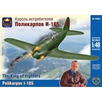 ARK MODELS 48045 POLIKARPOV 1-185 -THE KING OF FIGHTERS 1/48