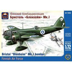 ARK MODELS 72003 BRISTOL BLENHEIM MKI BRITISH LIGHT BOMBER THE FINNISH AIR FORCE 1/72