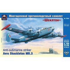 ARK MODELS 72004 AVRO SHACKLETON MR.3 BRITISH ANTI-SUBMARINE STRIKER 1/72