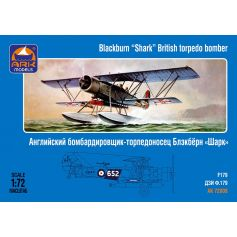 Blackburn Shark British torpedo bomber 1/72