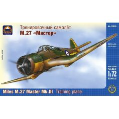Ark Model 72020 - Miles M.27 Master Mk.III British training plane 1/72