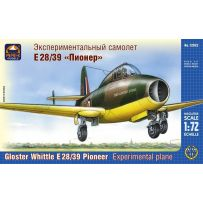 ARK MODELS 72022 GLOSTER WHITTLE E.28/39 PIONEER BRITISH EXPERIMENTAL PLANE 1/72