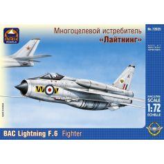 ARK MODELS 72025 BAC LIGHTNING F.6 BRITISH FIGHTER INTERCEPTOR 1/72