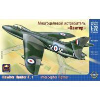 ARK MODELS 72026 HAWKER HUNTER F.MK.I BRITISH FIGHTER BOMBER 1/72