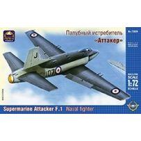 ARK MODELS 72029 SUPERMARINE ATTACKER F.MK.I BRITISH NAVAL FIGHTER 1/72