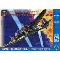 ARK MODELS 72035 BRISTOL BLENHEIM MK.IF BRITISH NIGHT FIGHTER 1/72