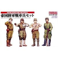 Imperial Japanese Army Tank Crew Set N1 1/35