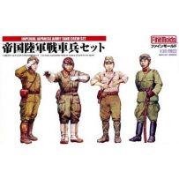 IMPERIAL JAPANESE ARMY TANK CREW SET N1 1/35