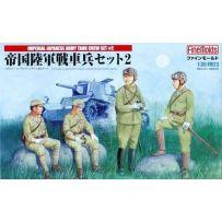 IMPERIAL JAPANESE ARMY TANK CREW SET N2 1/35