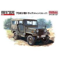 Jgsdf Type 73 With Canvas Top 1/35