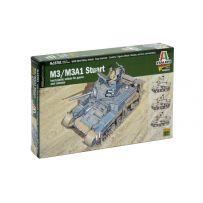 ITALERI 15761 CHAR LEGER M3/M3A1 STUART 1/56