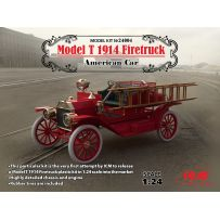 ICM 24004 FORD MODEL T 1914 FIRETRUCK AMERICAN CAR 1/24
