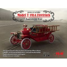 Ford Model T Firetruck 1/24