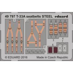 T-33a Seatbelts Steel 1/48