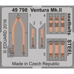 Ventura Mk.Ii Seatbelts Steel 1/48