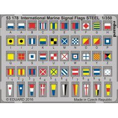 International Marine Signal Flags Steel 1/350