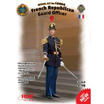 ICM 16004 GARDE REPUBLICAIN - FRENCH REPUBLICAN GUARD OFFICER 1/16 (11/16)