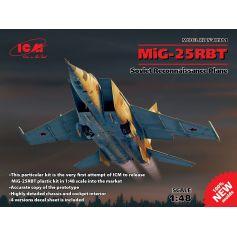 Soviet Reconnaissance Plane Mig-25 Rbt 1/48