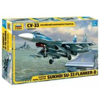 ZVEZDA 7297 RUSSIAN NAVAL FIGHTER SUKHOI Su-33 FLANKER-D 1/72