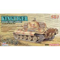 DRAGON 6840 Sd.Kfz.182 KINGTIGER HENSCHEL PRODUCTION 1/35
