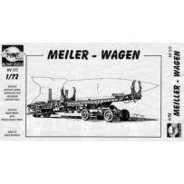 FINE MOLDS 013 MEILLER-WAGEN V-2 (A-4) MISSILE TRANSPORTER 1/72