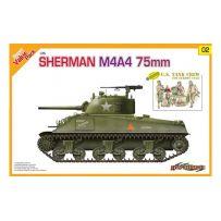 DRAGON 9102 SHERMAN M4A4 75 MM + EQUIPAGE 1/35