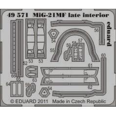 Mig-21mf Late Interior S.A. 1/48