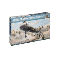 ITALERI 2733 -21C HELICOPTER VIETNAM SHAWNEE FLYING BANANA 1/48