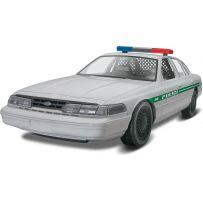 REVELL 11688 FORD POLICE CAR 1:25