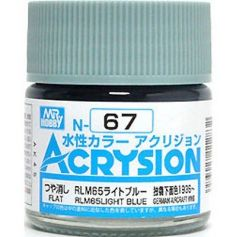 GUNZE N067 ACRYSION 10 ML RLM65 LIGHT BLUE A L'UNITE