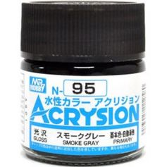 GUNZE N095 ACRYSION 10 ML SMOKE GREY A L'UNITE