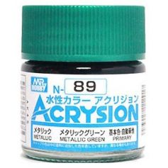 GUNZE N089 ACRYSION 10 ML METALLIC GREEN A L'UNITE