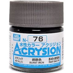 GUNZE N076 ACRYSION 10 ML BURNT IRON A L'UNITE