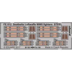 Seatbelts Luftwaffe Wwii Fighters Steel 1/48