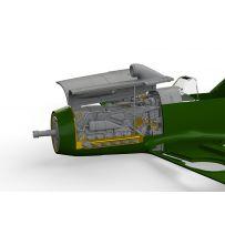BF 109F ENGINE & FUSELAGE GUNS 1/48