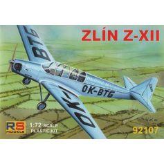 RS MODELS 92107 ZLIN XII 1/72