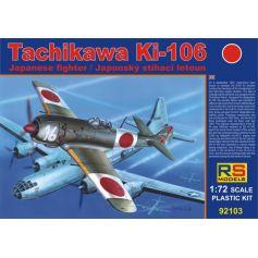 RS MODELS 92103 TACHIKAWA KI-106 1/72