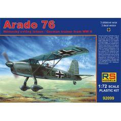 RS MODELS 92099 ARADO 76 IN A/B SCHULEN 1/72