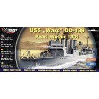 Uss Ward Dd-139 1/400