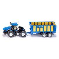 Tracteur Avec Remorque Ensilage 1/50