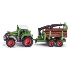Tracteur Avec Remorque Forestiere