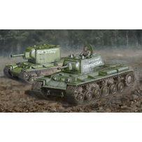 ITALERI 15763 CHAR / TANK KV-1 / KV-2 1/56 WARLORD GAME