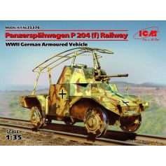 Panzerspahwagen P 204 F Railway 1/35