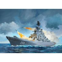 REVELL 05151 NAVIRE AMIRAL PETR VELIKIY 1/700 (PIERRE LE GRAND)